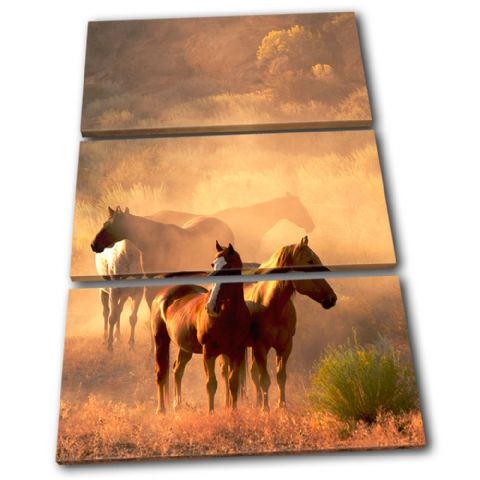 Horses Wildlife Animals - 13-1212(00B)-TR32-PO